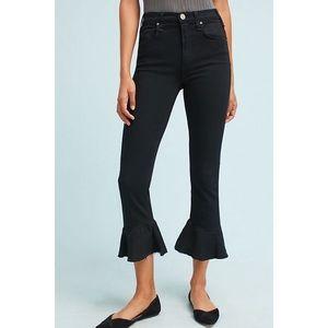 Anthropologie McGuire Bohemia Crop Flare Jeans